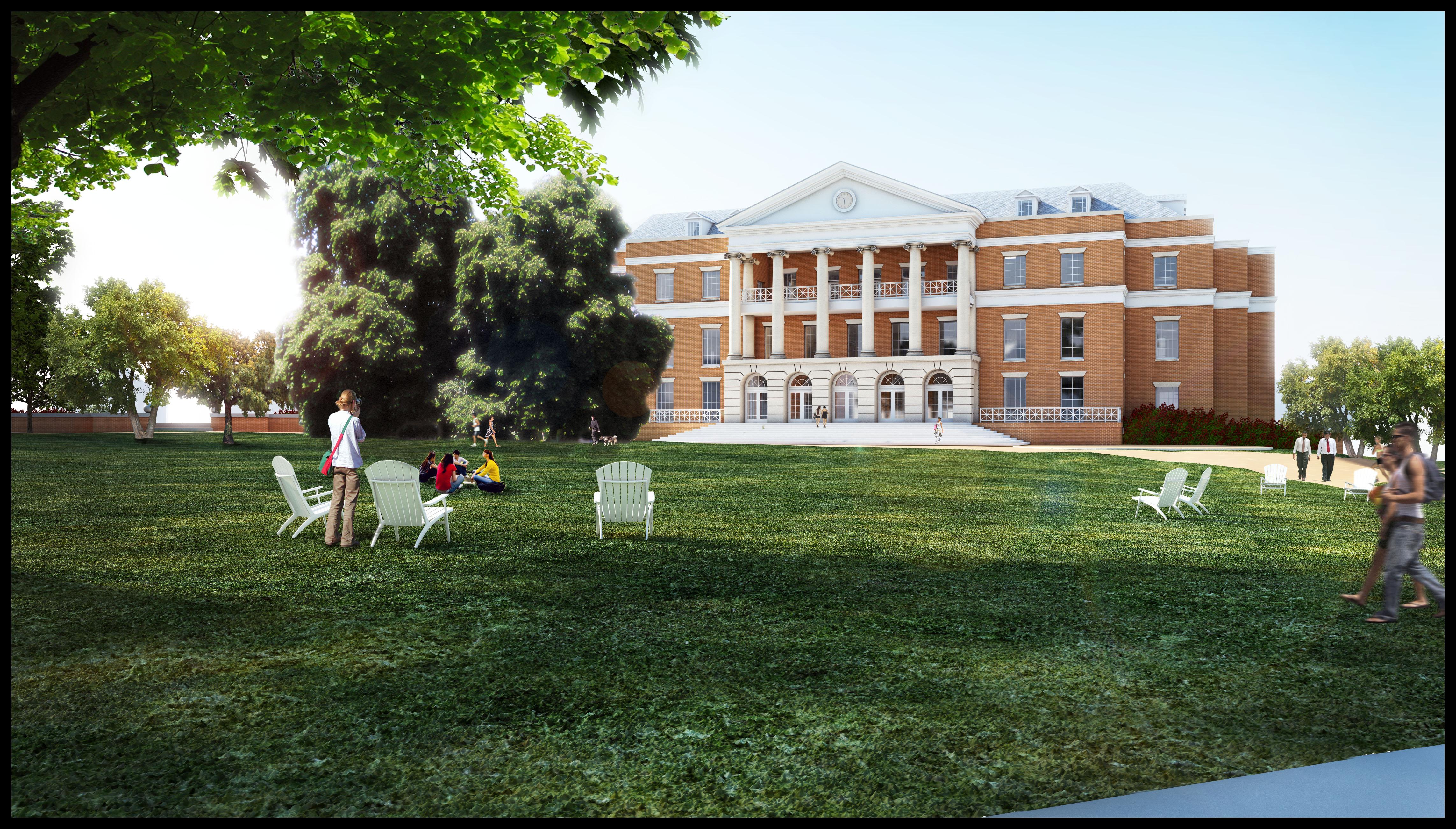 University Center Rendering