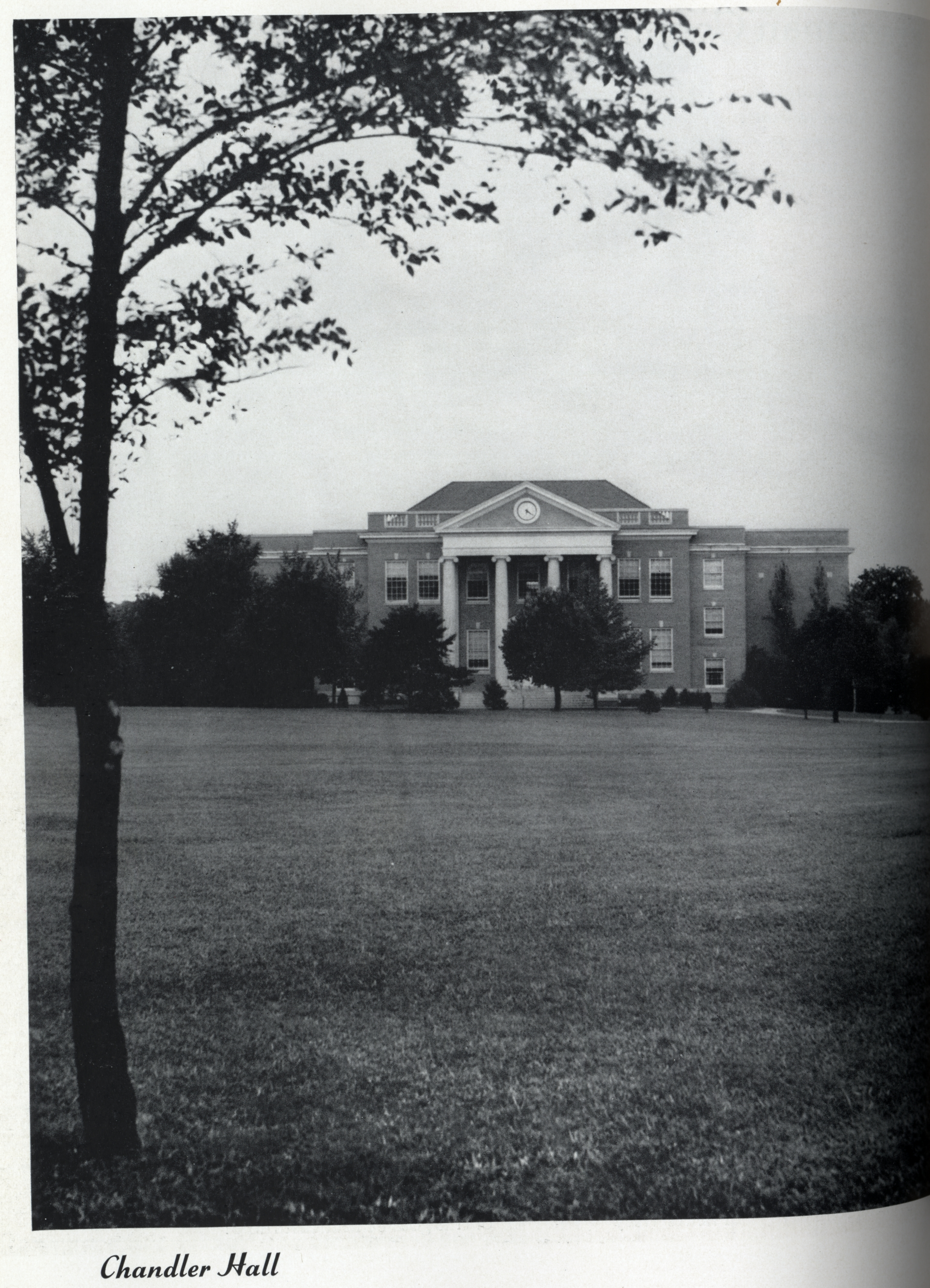 Chandler Hall,1941