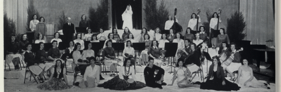 College Symphonic Orchestra, 1946