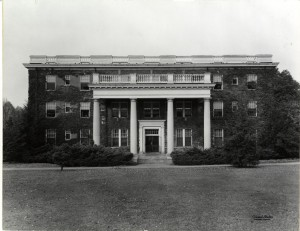 Exterior of Virginia Hall
