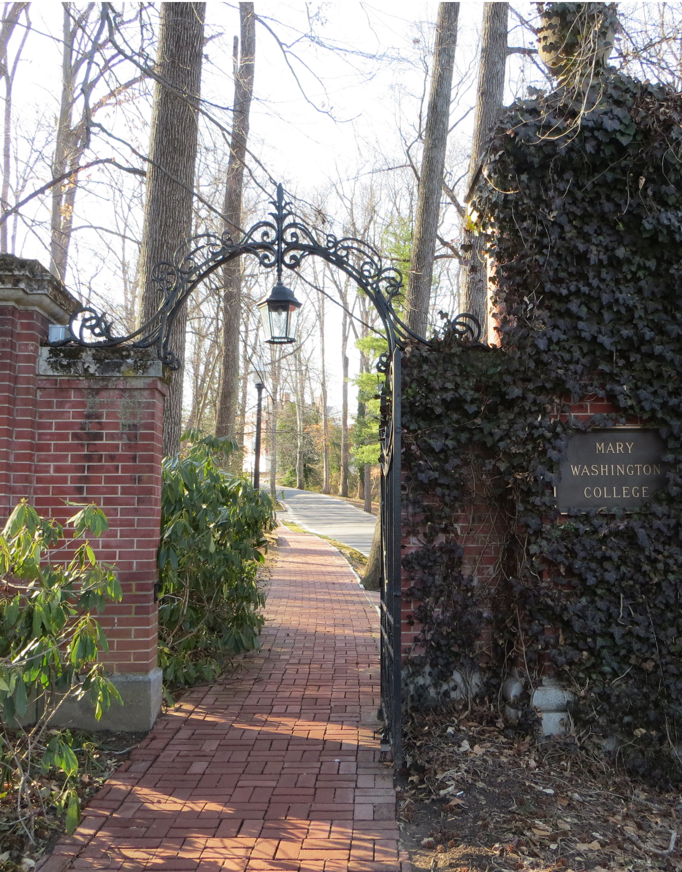 Sunken Road Gate, March 21, 2014