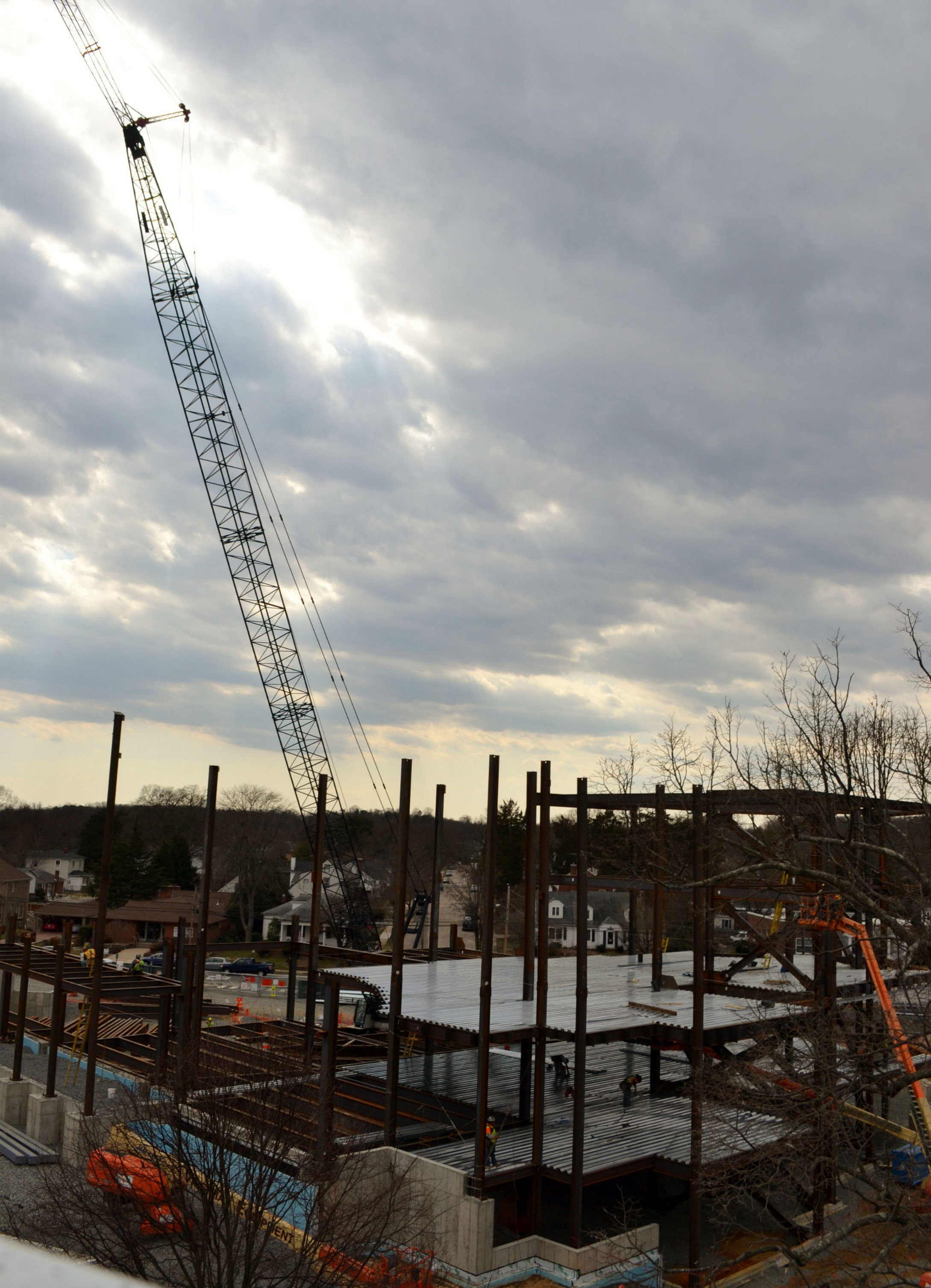 University Center Construction, 2014