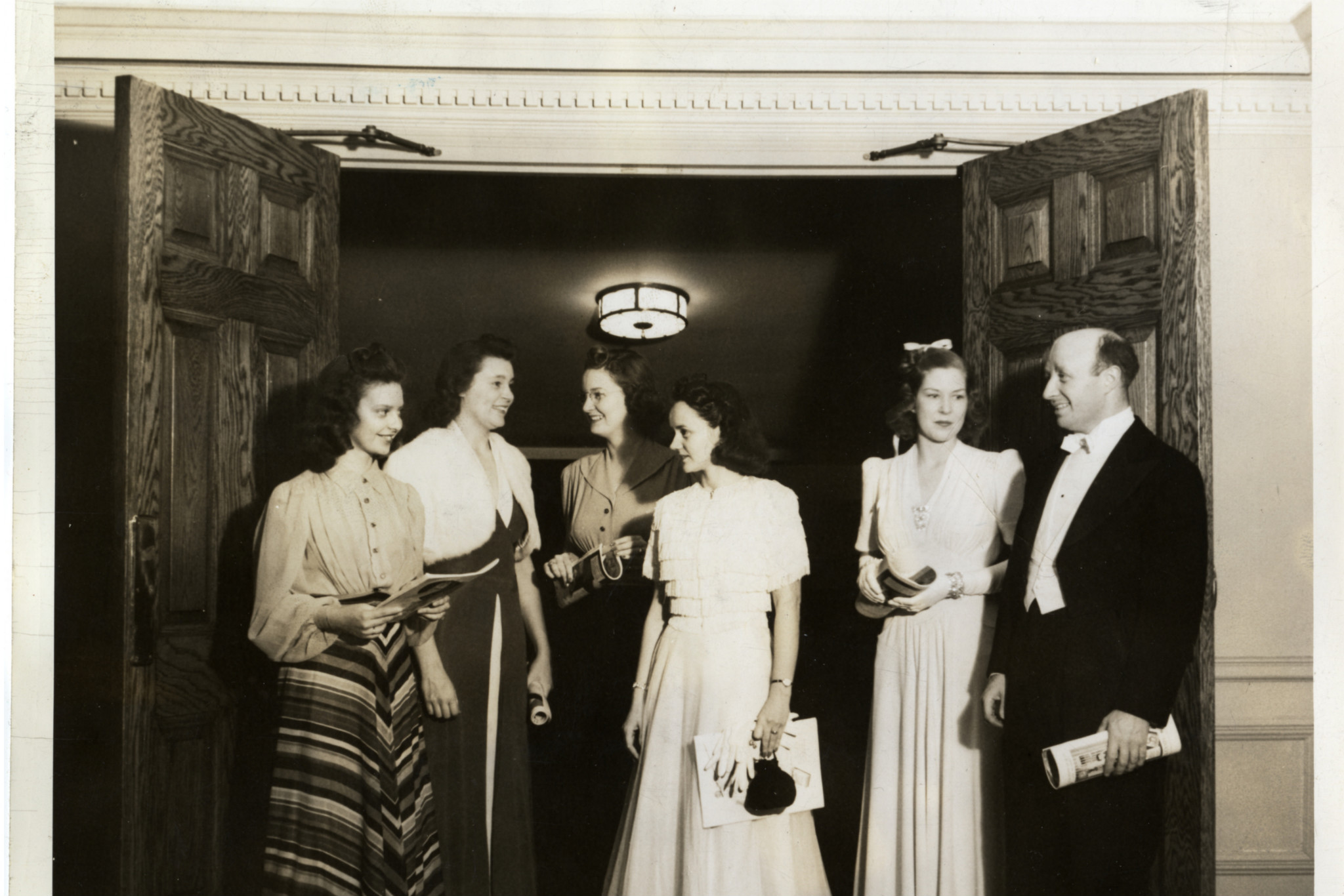 Formal Function at Dodd Auditorium, 1940