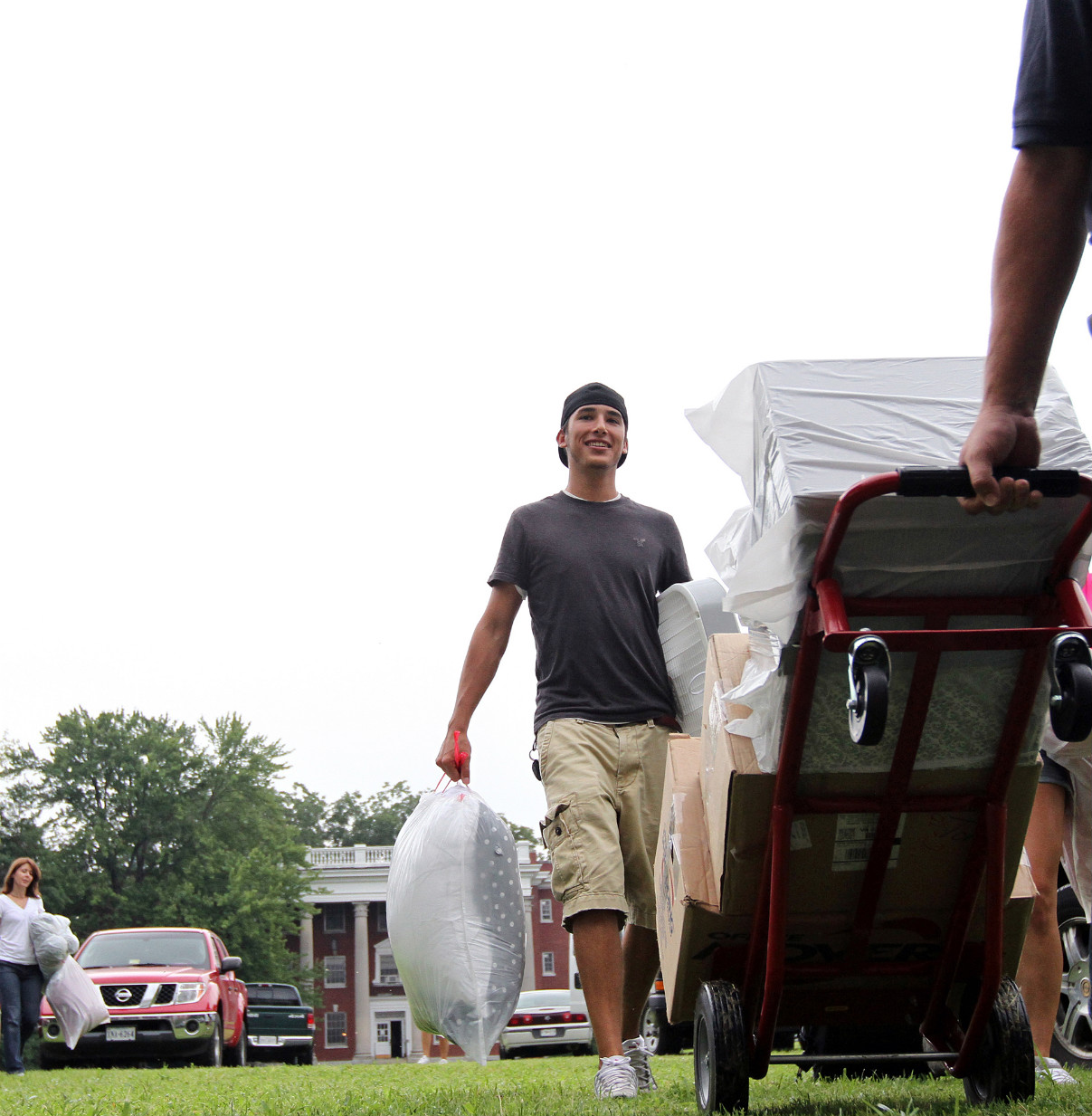 Move-In Day, August 17, 2010