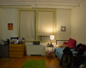 Willard Dorm Room, 2014